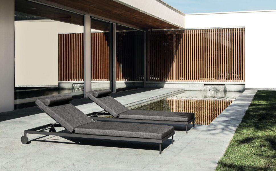 Sofá de 3 plazas Cleo//Alu 2