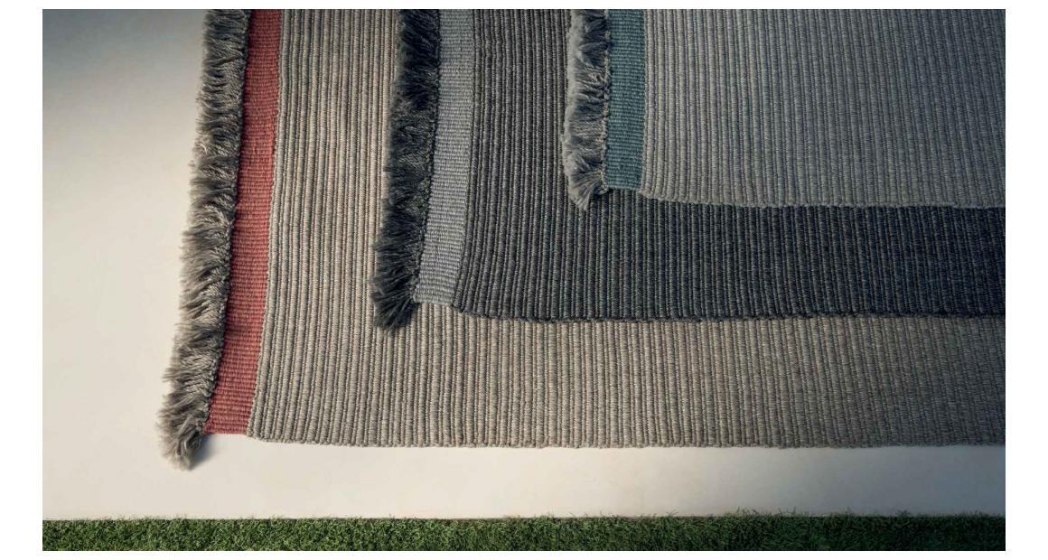 Accessories Alfombra Fabric//Ribs