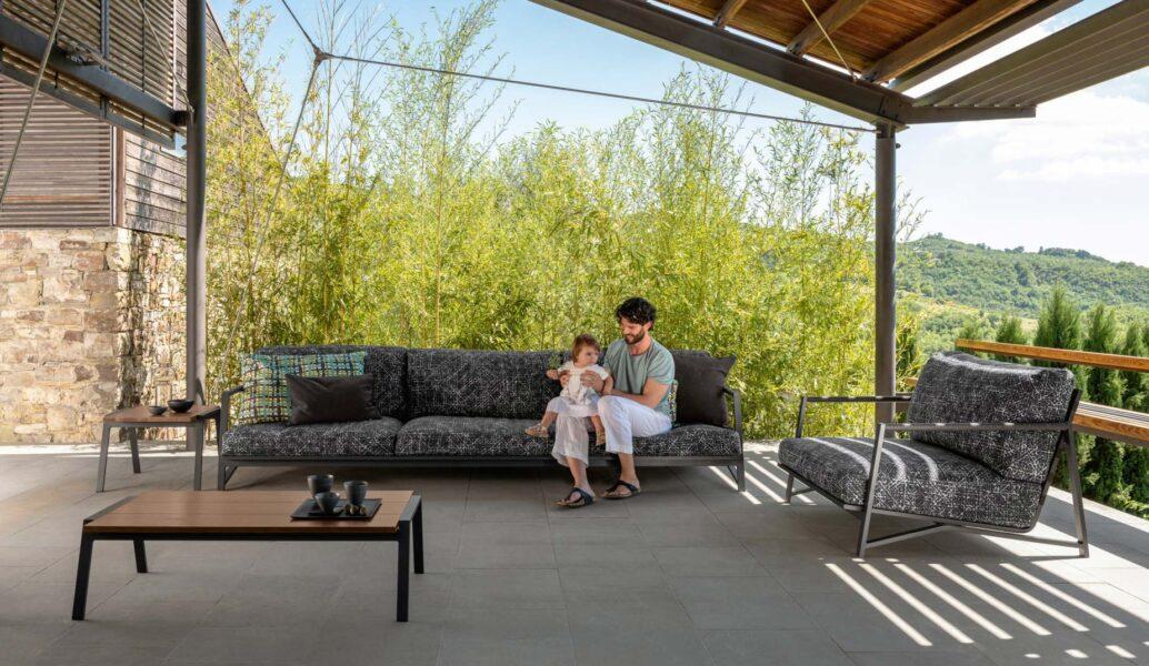 Cottage Sofá luxury de 3 plazas 0