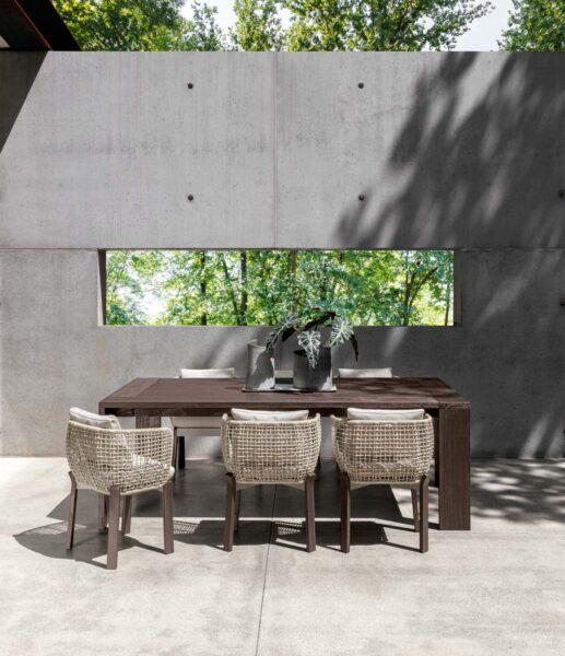 Argo//Wood Mesa de comedor 95×95 6