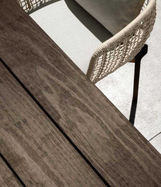 Argo//Wood Mesa de comedor 95×95 8