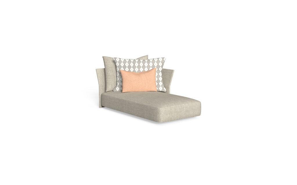 sofa lounge sx backrest fabric