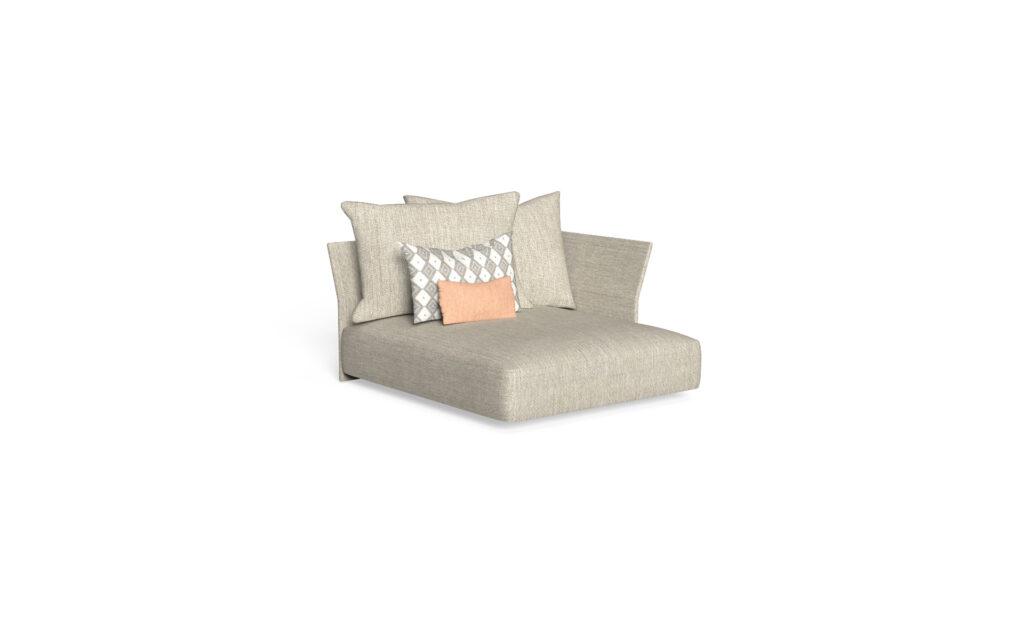 sofa lounge xl sx backrest fabric