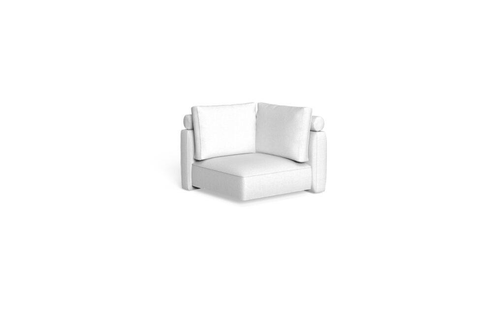 sofa corner backrest fabric