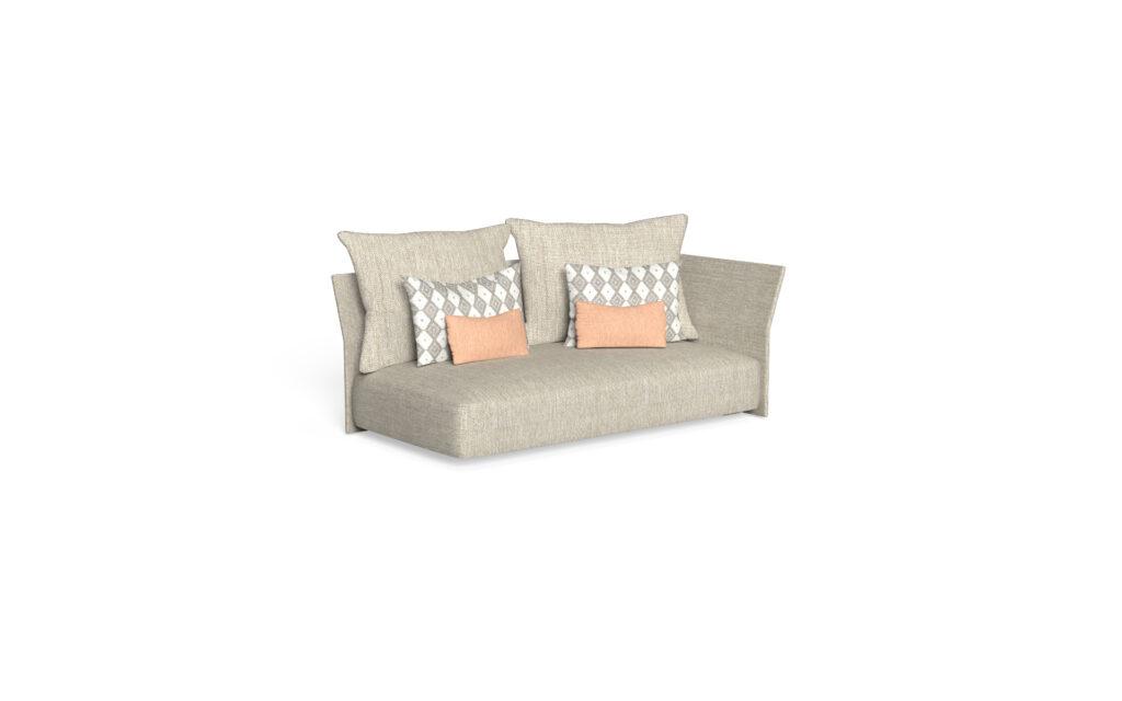 sofa sx backrest fabric